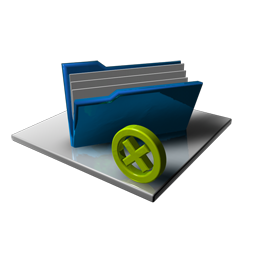 Blue Folder Full Delete
