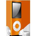 iPod Nano orange off-128