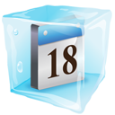Date Icon Ice-128