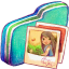 Pictures Green Folder icon