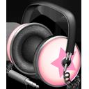 Pinkstar Power headphones-128