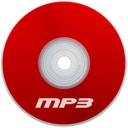Mp3 Red Icon Download Extreme Media Icons Iconspedia