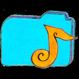 Folder b music