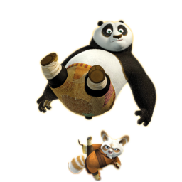 Master Shifu and Po