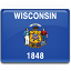 Wisconsin Flag icon