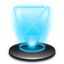 Recycle Full Hologram icon
