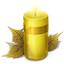 Yellow Candle icon