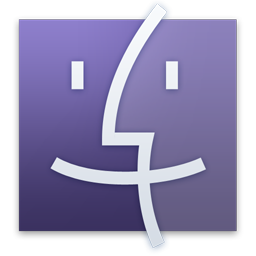 Finder Purple