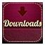Downloads retro icon