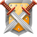 Shield and swords-128