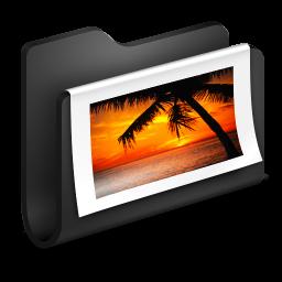 Photos Black Folder