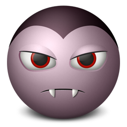 Dracula emoticon
