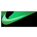 Nike green logo-128