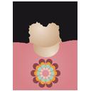Afro man flower-128