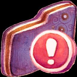 Important Violet Folder
