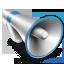 3D Bullhorn icon