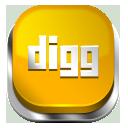 Digg orange button