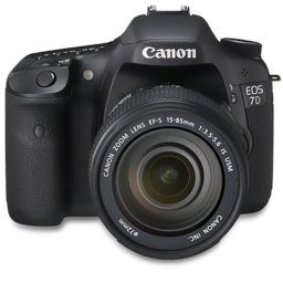 Canon 7D front up
