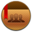Contacts Round Icon