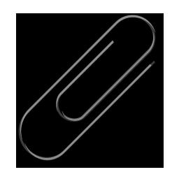 Paperclip4 black
