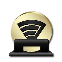 Spotify Black And Gold Icon Download Black And Gold 2 Icons Iconspedia