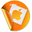 Apple Sticker icon