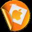 Apple Sticker icon