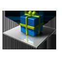 Blue & Green Cube-128