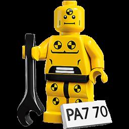 Lego Crash Test Dummy