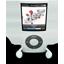 White iPod Nano icon