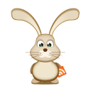 Easter bunny rss-128