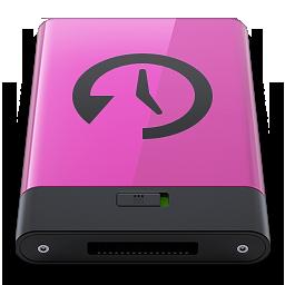HDD Pink Time Machine B