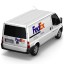 Van FedEx Back icon