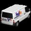 Van FedEx Back icon