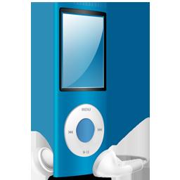 iPod Nano blue on