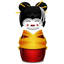 Geisha korea red icon