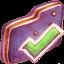 Finished Violet Folder icon