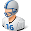 Footballplayer Male Light icon