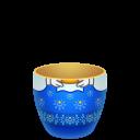 Blue Matreshka Down-128