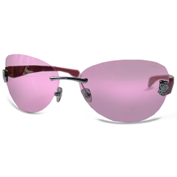 Chanel Pink Glasses