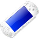 White Playstation Portable-128