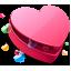 Favorites Heart Box Icon