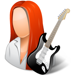 Guitarist Female Light