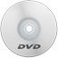 DVD White icon