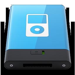 HDD Blue iPod W