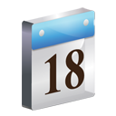 Date Icon 3D-128