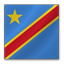 Democratic Congo Flag icon