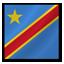 Democratic Congo Flag Icon
