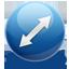 Resize diag icon