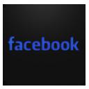 Facebook text blueberry-128